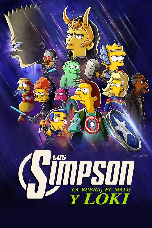 Los Simpson: La buena, el malo y Loki (2021)